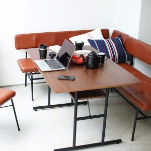 anthem LD Table ダイニングテーブル アンセム ANT-3049BR W1200 机 食卓 デスク 作業台 収納 ヴィンテージ 一人暮らし|3244p