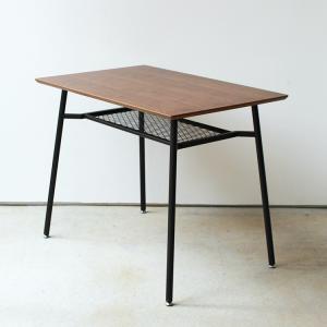 anthem ダイニングテーブル S アンセム ANT-2831BR W900 机 食卓 デスク 作業台 収納 ヴィンテージ 一人暮らし|3244p