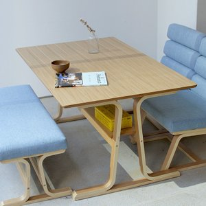 ダイニングテーブル VET-333TNA ナチュラル ロータイプ 東谷 ROOM ESSENCE 高さ63cm リビングダイニングテーブル 高さ60〜65cm|3244p