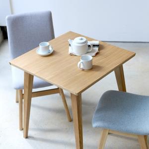 ダイニングテーブル バンビテーブル W65cm 650mm 正方形 CL-786TNA BANBI table ミニテーブル 二人掛け 二人用 二名用|3244p