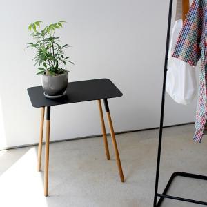 PLAIN サイドテーブル プレーン 角型  ホワイト ブラック テーブル インテリア 山崎実業 03508 3244p