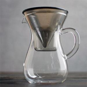SLOW COFFEE STYLE コーヒーカラフェセット ステンレス 600ml 27620 KINTO/キントー ドリップポット|3244p