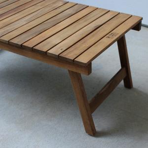 フォールディングテーブル 折りたたみ可能 73cm幅 NX-514の写真
