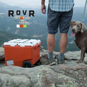 ROVR PRODUCTS RollR 45qt ローバー プロダクツ ローラー45/42.5L クーラーボックス 大型 大容量 保冷力 キャスター キャリーワゴン|3244p