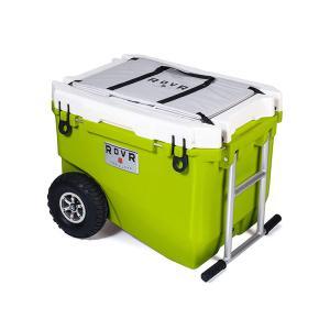 ROVR PRODUCTS RollR 60qt ローバー プロダクツ ローラー60/56.8L クーラーボックス 大型 大容量 保冷力 キャスター キャリーワゴン|3244p