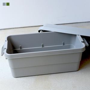 Trunk Cargo 70L トランクカーゴ コンテナボックス カーキ グレー 東谷 azumaya 収納ボックス|3244p