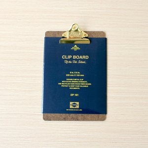 Penco Clipboard O/S Gold - A5  size:  W152×H245×D2...