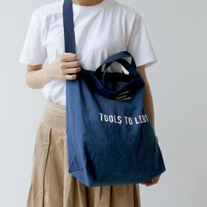 トートバッグ デニム TOOLS to LIVEBY Tote Bag - Denim ツールズ トゥ リブバイ 2WAYトートバッグ HIGHTIDE ハイタイド TL041|3244p