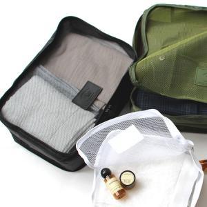 nahe ネーエ トラベルパッキングバッグ M GB236 HIGHTIDE ハイタイド 防水 ファスナーポーチ 小分け 収納|3244p
