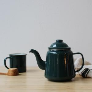FALCON TEA POT ファルコン ティーポット WH BK RD GY TE 3244p