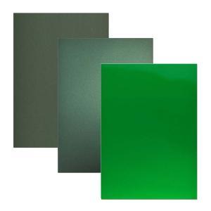 ラップフィルム1080シリーズ緑系6枚セット当店規格品297mm×210mm(A4サイズカラー別)|3333-mmmstore