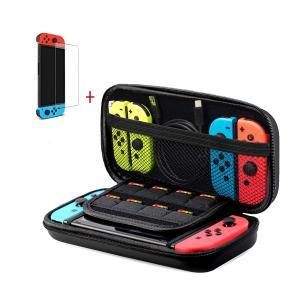 【収納力抜群】Nintendo Switch本体、四つの切り替えのJoy-Con、ACアダプター及び...