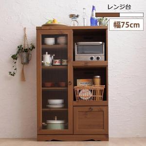 レンジ台 レンジボード おしゃれ キッチンカウンター キッチン収納 棚 収納 カントリー調家具 北欧 35plus