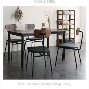 テーブル ダイニングテーブル おしゃれ デスク カフェテーブル 幅120cm 木製 天然木 モダン 無垢|35plus|08