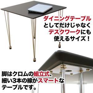 ダイニングテーブル 2人用 おしゃれ 単品 テーブル SOHO デスク 机 35plus 02