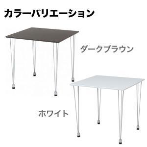 ダイニングテーブル 2人用 おしゃれ 単品 テーブル SOHO デスク 机 35plus 03