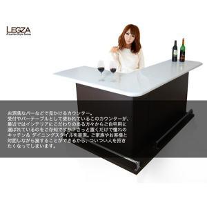 バーカウンター テーブル カウンターテーブル 国産 完成品|35plus|04