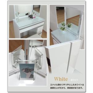 ドレッサー 鏡台 三面鏡 椅子付き おしゃれ 姫系 完成品 安い|35plus|09