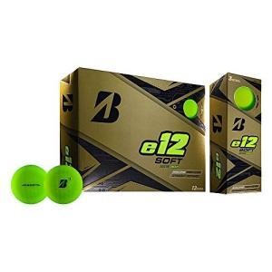 Bridgestone Golf e12 Soft Golf Balls, Matte Green (One Dozen)|36hal01