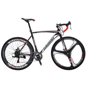EUROBIKE Road Bike TSM550 Bike 21 Speed Dual Disc Brake 700C Wheels Ro|36hal01