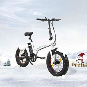 "Luyao ECOTRIC折りたたみ20"" 電気電子自転車ビーチ雪自転車原付Removabl ■お届..."