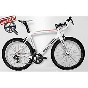 Stradalli AR7 White Team Full Carbon Aero Road Bicycle Ultegra 8050 Di
