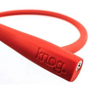 KNOG PARTY FRANK 620ミリメートルケーブルバイクロック付きブラケットレッドキー付き...