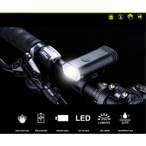 Motion Activated Duel Beam Bicycle Light ,Wave han...