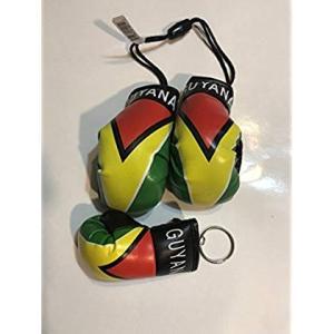 ガイアナミニボクシンググローブ&キーホルダーボクシンググローブコンボ Guyana Mini Box...
