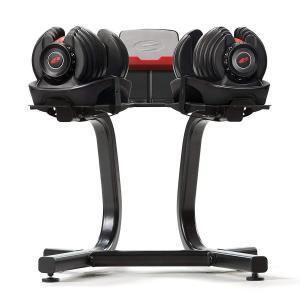 Bowflex SelectTechダンベルは、メディアラックとスタンド Bowflex Selec...