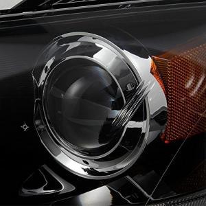 For Mazda 3 Mazda3 4 Doors Sedan Black Bezel Projector Headlights Head|36hal01