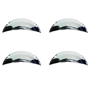 "Octane Lighting 5.75"" 5-3/4"" Polished Stainless St..."