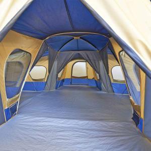 Ozark Trail Base Camp 14-Person Cabin Tent (Blue)|36hal01