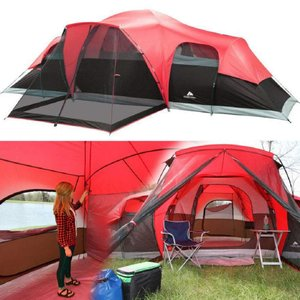 Ozark Trail 14' x 10' Family Cabin Tent, Sleeps 10|36hal01