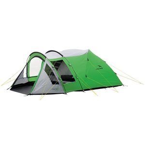 Easy Camp 4 Person Cyber 400 Tent, Green/Silver, 1...