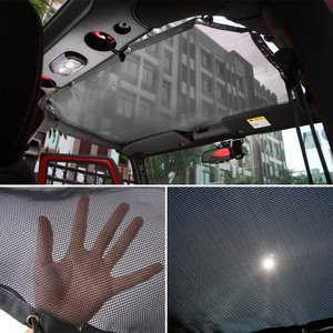 Mesh Shade Top Cover UV Protection Soft Top for Je...