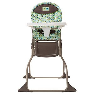 Cosco Simple Fold High Chair with 3-Position Tray (Elephant Squares)|36hal01