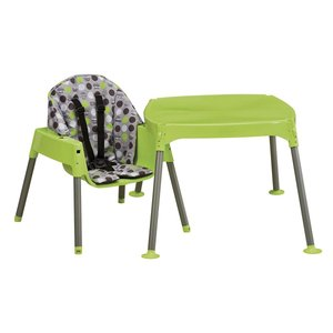 Evenflo Convertible High Chair, Dottie Lime|36hal01