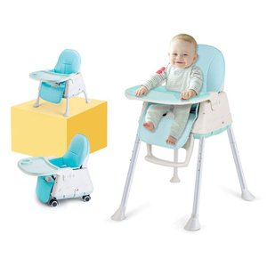 High Chair, LYASI 3-in-1 Portable Highchair,Toddler Booster Seat,Baby|36hal01