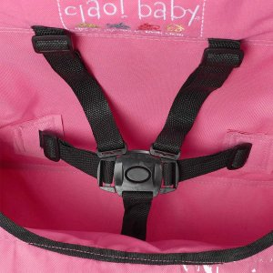 ciao baby Portable Travel Highchair, Pink|36hal01