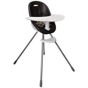 phil&teds Poppy Convertible High Chair, Black ? Converts to Child Seat|36hal01