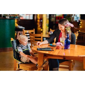 Cozy Cover Easy Seat Portable High Chair (Black) - Quick, Easy, Conven|36hal01