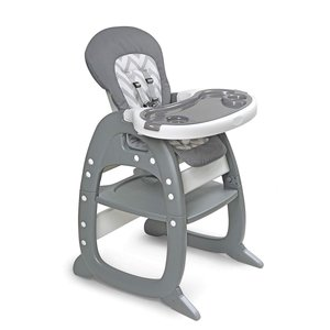 Envee II Baby High Chair with Toddler Playtable and Chair Conversion|36hal01