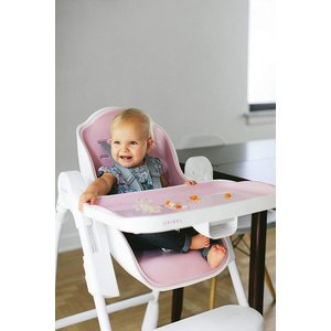 Oribel Cocoon 3-Stage Easy Clean, Contemporary High Chair (Pink)|36hal01