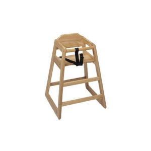 Update International WD-HC High Chair Natural (K.D.)|36hal01