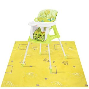 Splat Floor Mat by Accmor, High Chair Mat for High Chair, Washable, Wa|36hal01