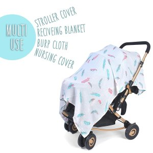 SwaddleStork Baby Muslin Swaddle Blanket for Boys ...
