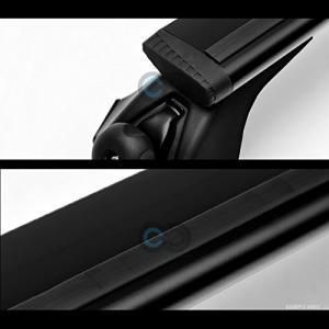 "R&L Racing 50"" Black Roof Rack Aluminum Teardr..."