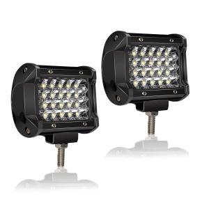 "TERRAIN VISION 4"" Inch LED Pods Light Bar Quad Row..."