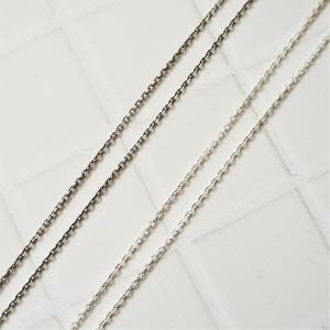 Silver Chain No.1  シンプルにお使いいただきたい細めのチェーンです。 Silver...